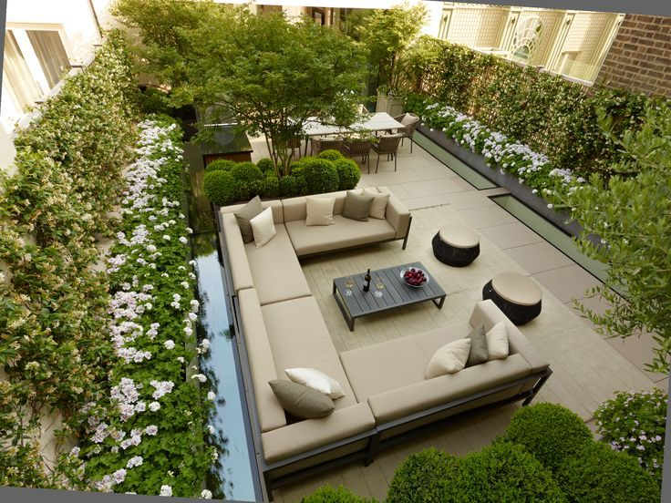 Pin By Gray Lau On Garden Roof Garden Design Garden Design London Rooftop Garden