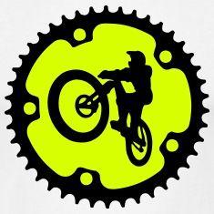 Downhill Bike, Mountain Bike, Fahrrad Trinkflasche   Spreadshirt
