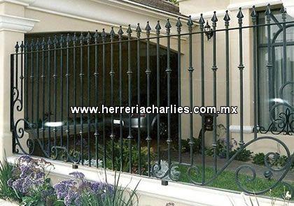 Cercos rejas protecciones de herreria para ventanas - Rejas para casas ...