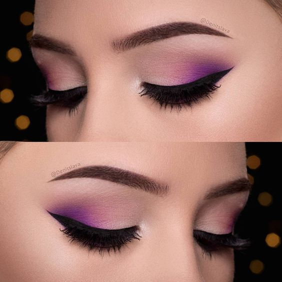 45+ Breathtaking Purple Makeup Ideas that are Beyond Words
