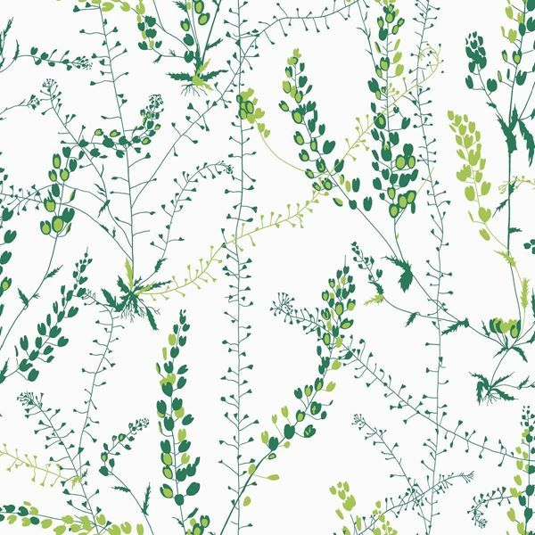 Danish Design Wallpaper : Scandinavian design wallpaper bladranker from collection by borastapeter and eco