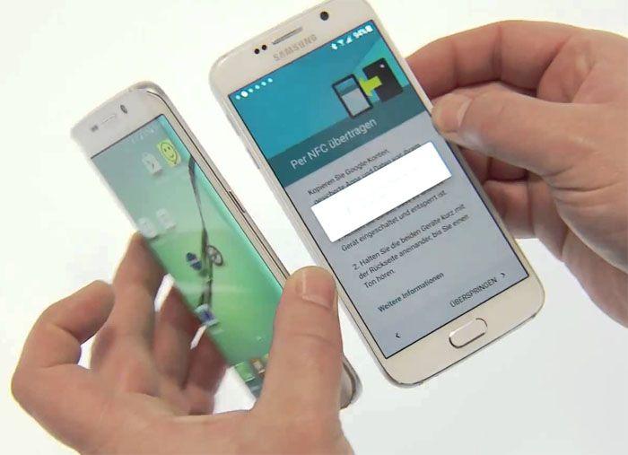 How to fix Samsung Galaxy S6 Edge Plus NFC Photo transfer