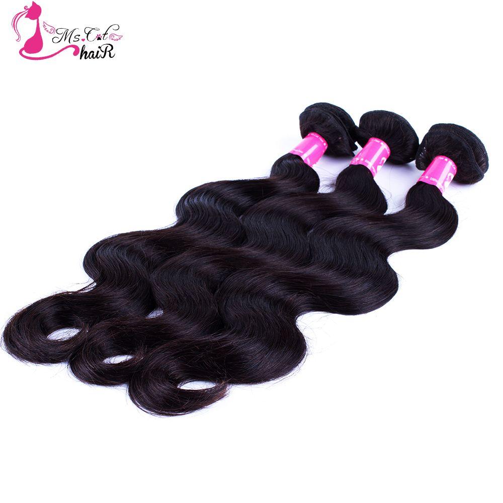 Peruvian Body Wave 100 Human Hair Ms Cat Hair Products Natural