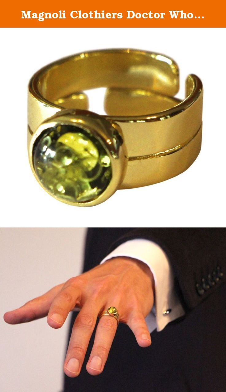 Magnoli Clothiers Doctor Who Style Capaldi Ring This Fashionable Ring Has A Baltic Green Amber Stone Set In A Small Hou Fashion Rings Shoe Jewelry Amber Stone
