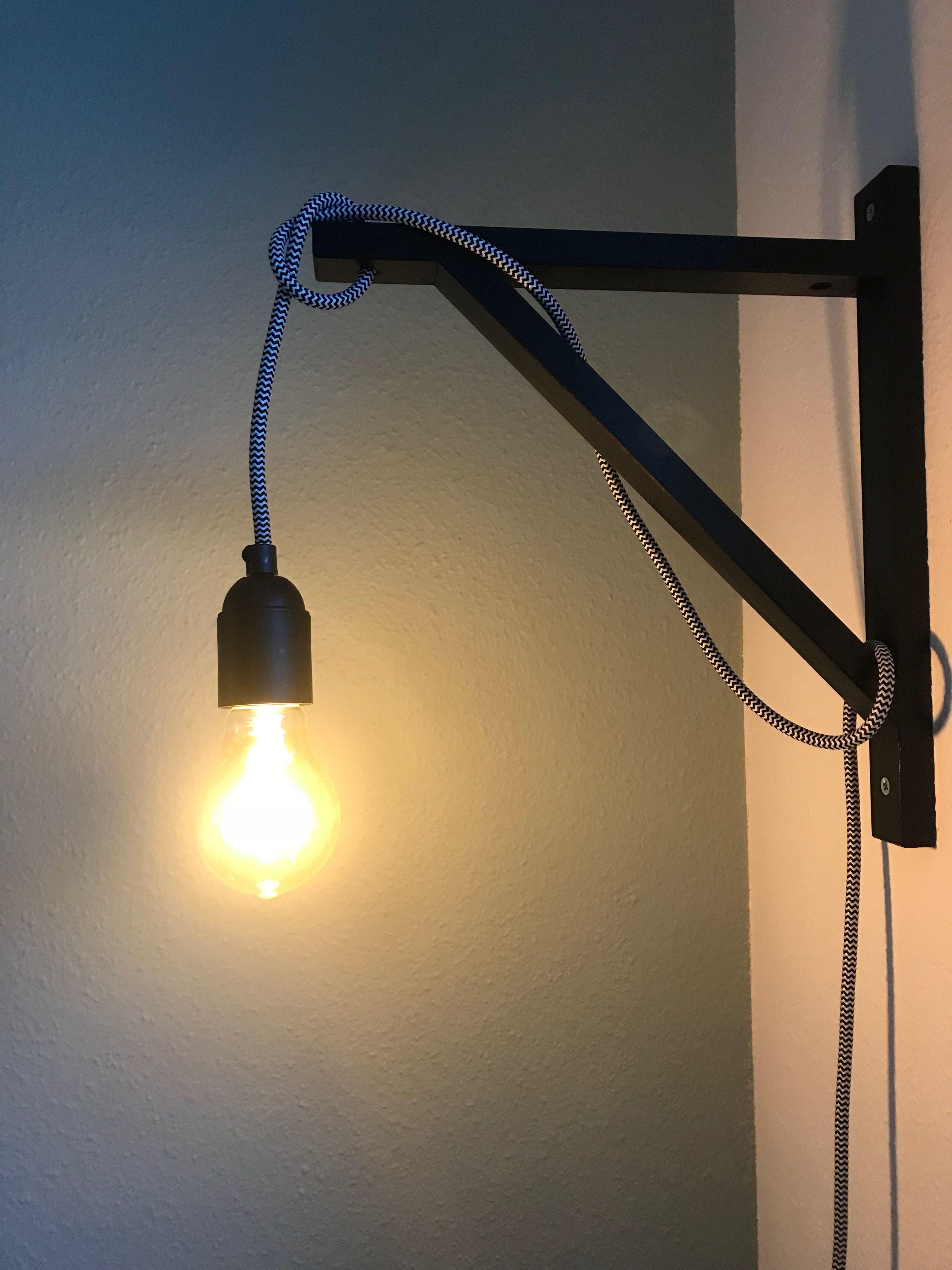 Diy Lamp Boekenplanksteun Ikea Industrieel Zwart Flexa Early Dew Diy Lamp Verlichting Wandlamp