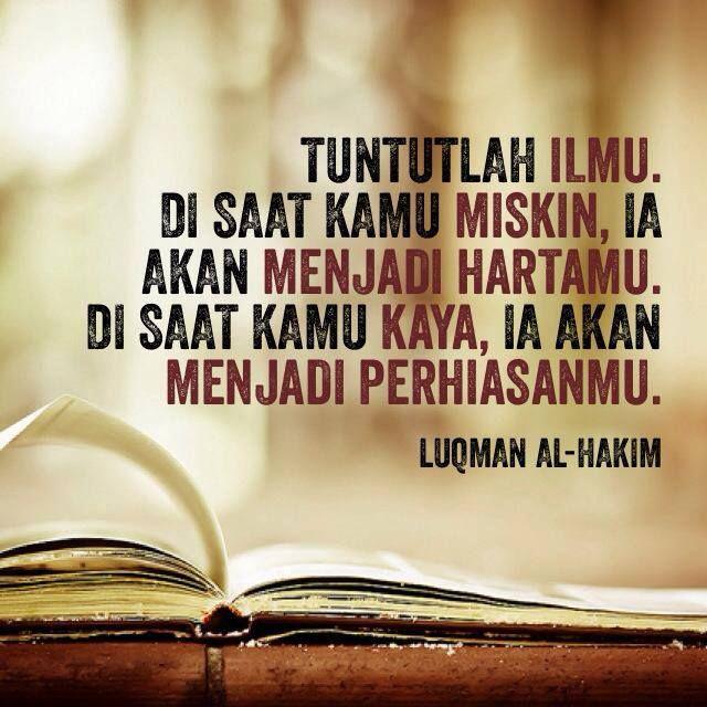 Kata Kata Mutiara Tentang Menuntut Ilmu Dalam Islam