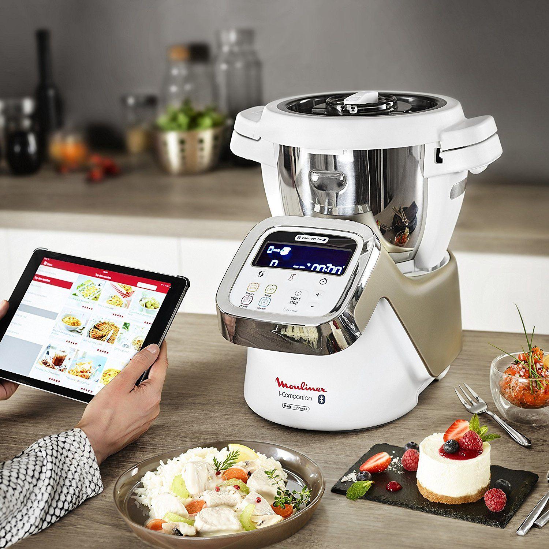 Bon Plan Du Dimanche 70 De Reduction Sur Le Moulinex I Companion Hf9001 Robot Cuiseur Connecte Kitchen Aid Blender Recipes Small Kitchen Appliances