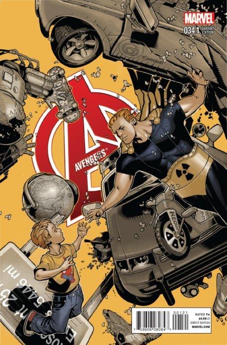 Avengers Issue 34 1b Marvel Comics Bachalo Incentive Comics Comic Books Art Comic Art Community