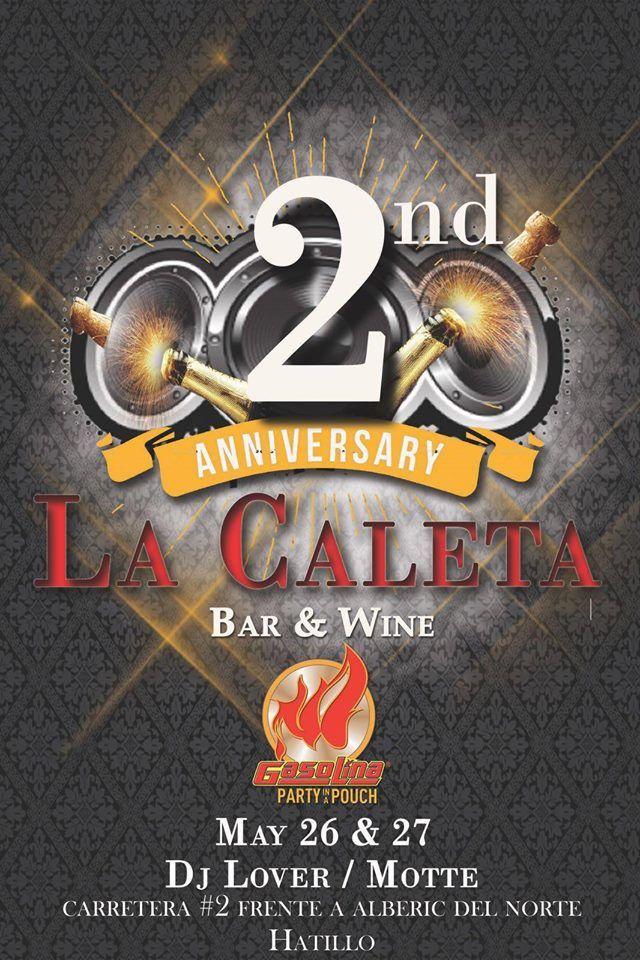 2do Aniversario de La Caleta Bar & Wine #sondeaquipr #lacaletabarwine #hatillo