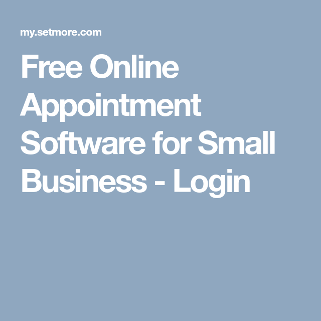 Free Online Appointment Software for Small Business Best