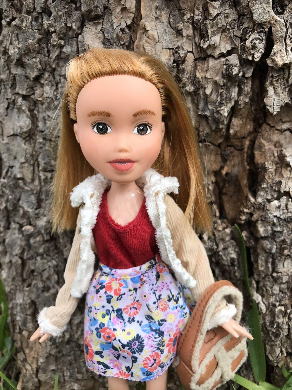 Gayle Repainted Bratz Doll Make Under Strawberry Blonde Hair Brown Eyes By Truebeautyproject On Etsy Strawberry Blonde Hair Strawberry Blonde Bratz Doll