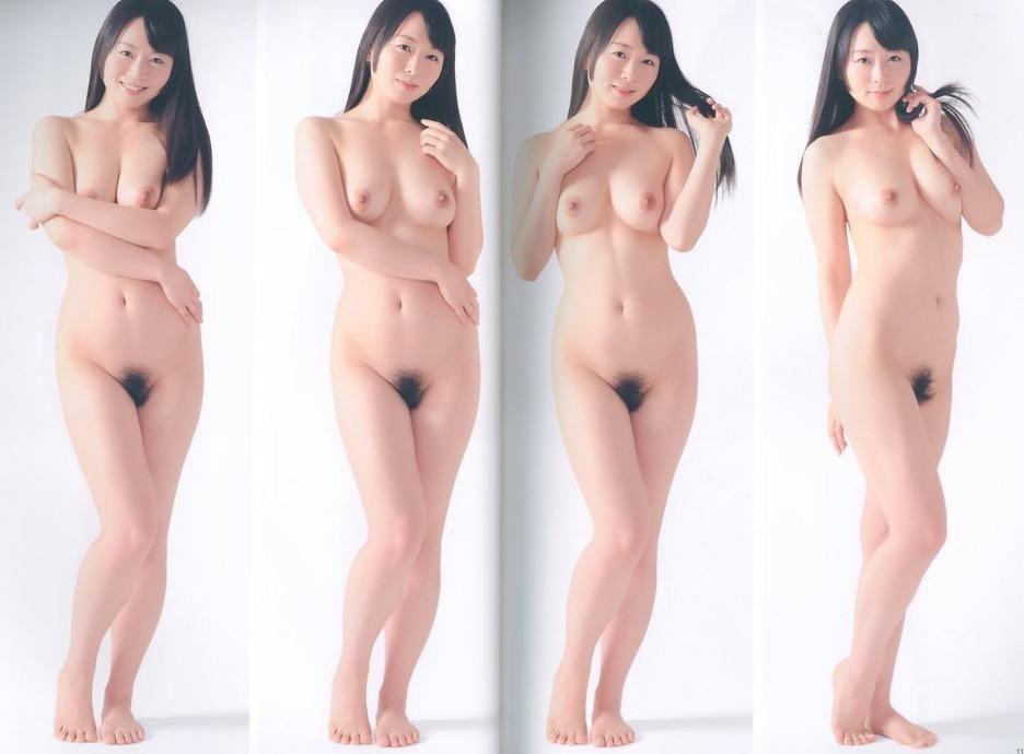 I naked pose