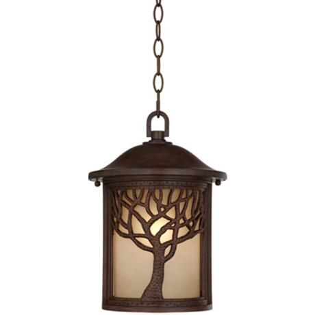 craftsman style outdoor pendant lighting # 14