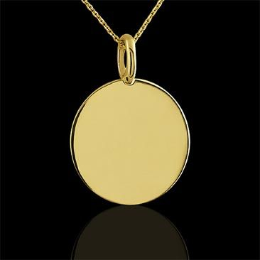 disk with the engrave this store name necklace sterling your engravable disc silver product pendant