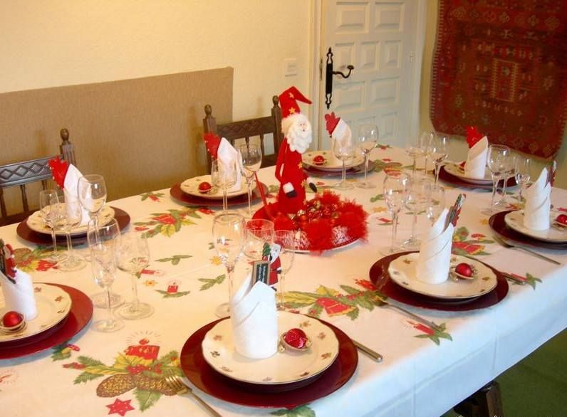 Mesa Navidena Mesa Navidad Decoracion Mesa De Navidad Decorar Mesas De Navidad