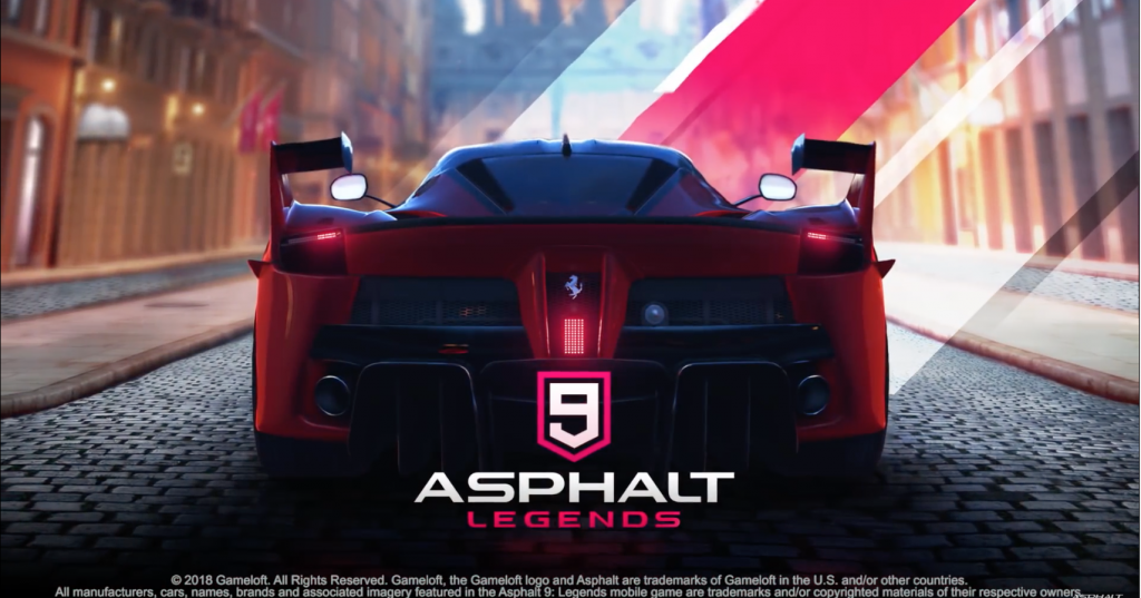 تحميل لعبة Asphalt 9 Legends للأندرويد و ios Racing