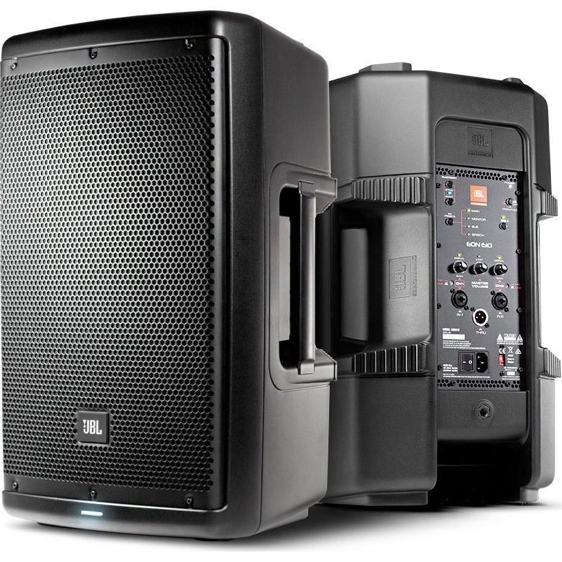 Jbl Eon610 1000 W 10 2 Way Multipurpose Self Powered Pa Speaker Sound System Powered Speakers Jbl Speaker