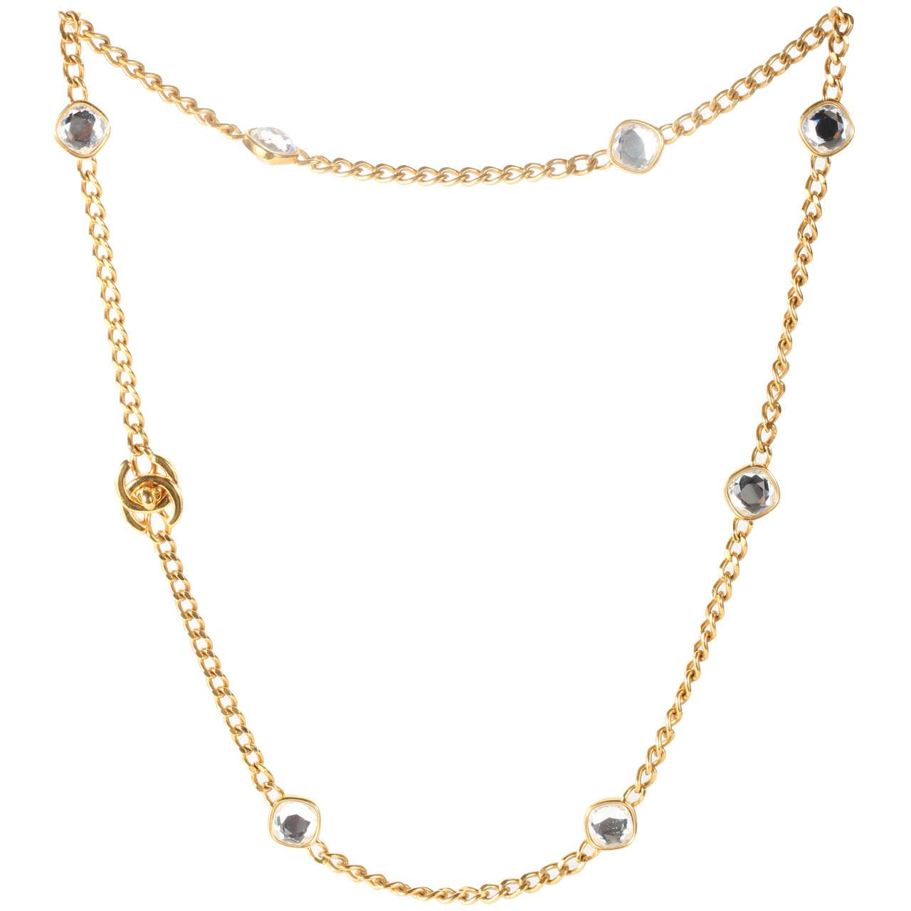 default metal gold en costume products fashion jewelry chains crystal long chanel pearly packshot ww necklace necklaces strass glass pearls white
