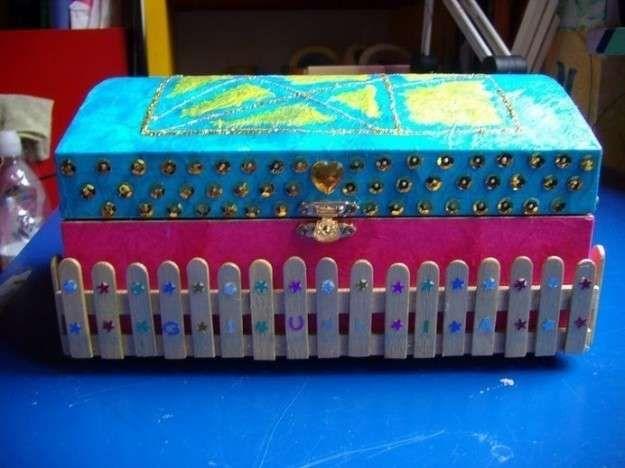 Reciclaje creativo palos de helados: fotos ideas DIY (29/40) | Ellahoy