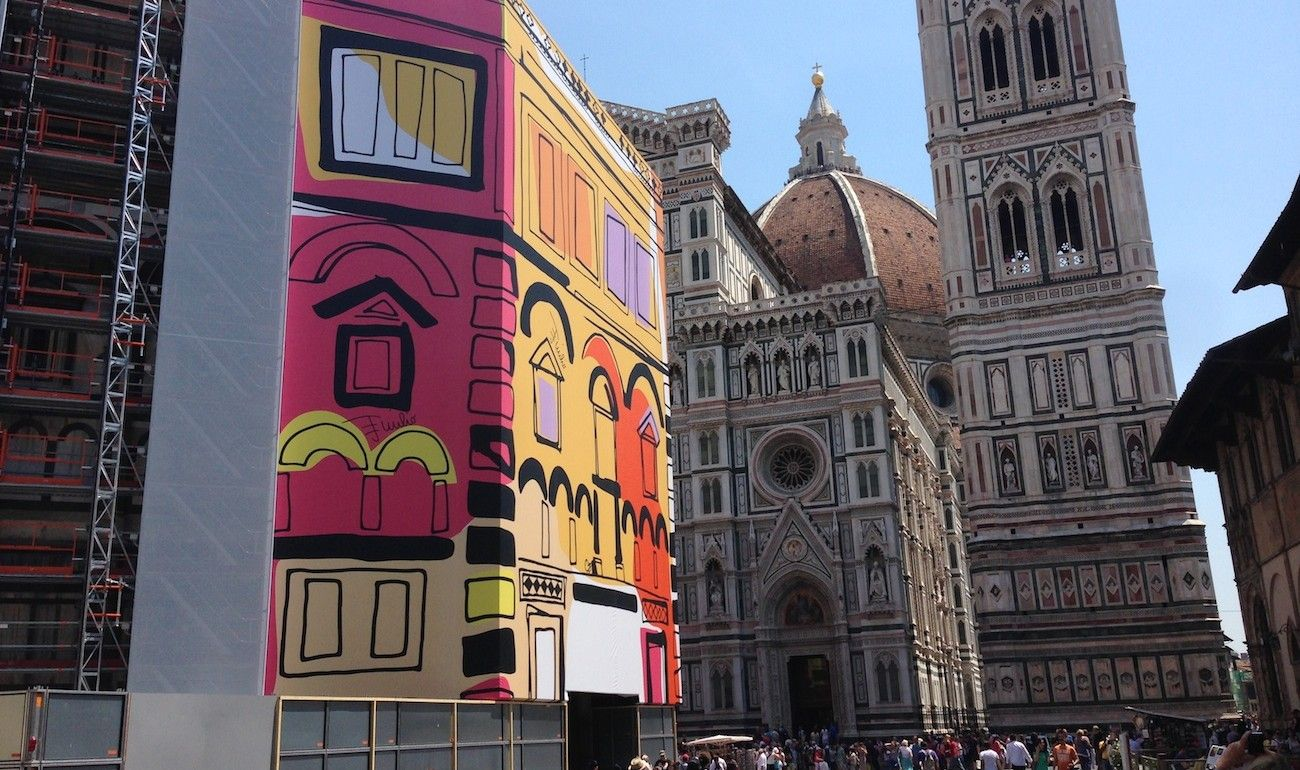 Emilio Pucci dresses Florence Baptistery