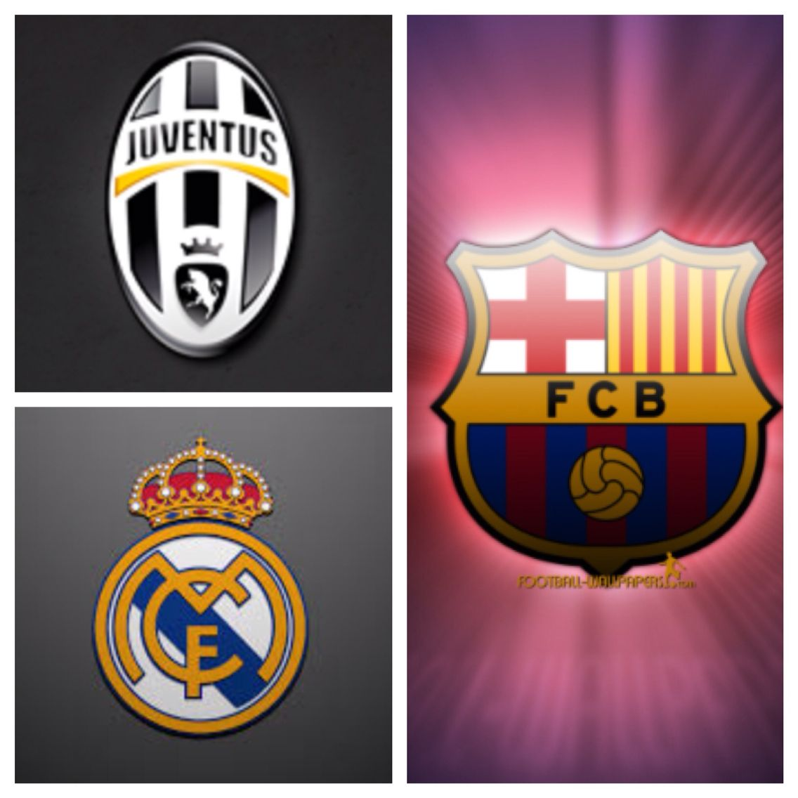 who will go on to the finals with barca real madrid or juventus juventus sport team logos team logo real madrid or juventus