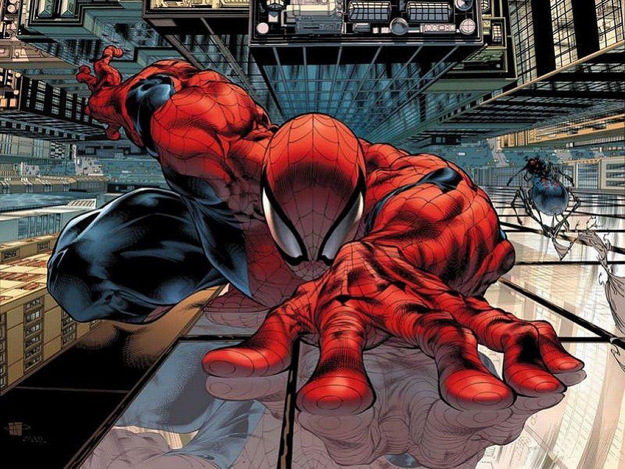 Spiderman Comic Wallpapers Phone Bozhuwallpaper Wallpaper