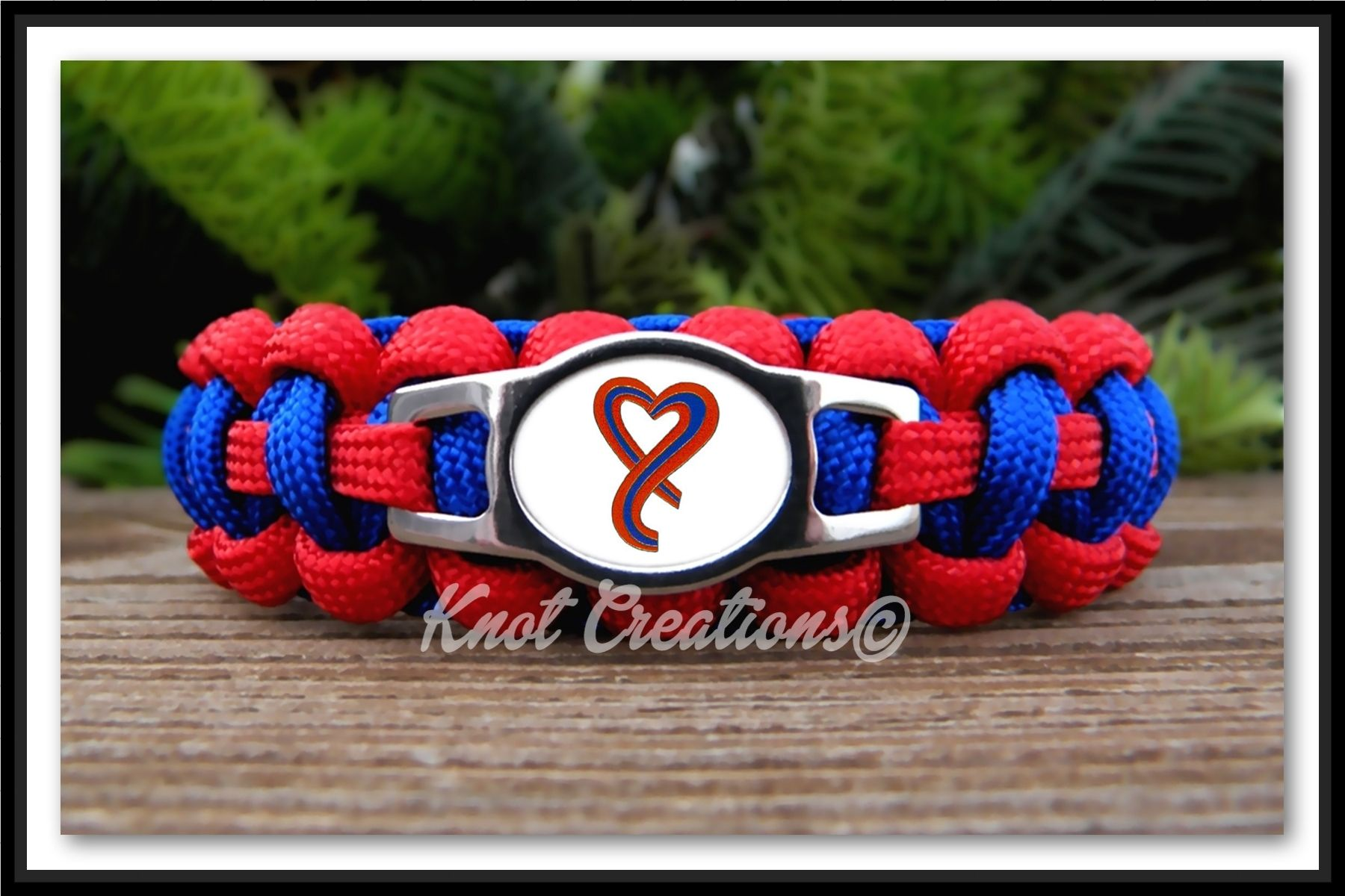 Chd Awareness Paracord Bracelet Show Support And Raise For Con Heart Defect