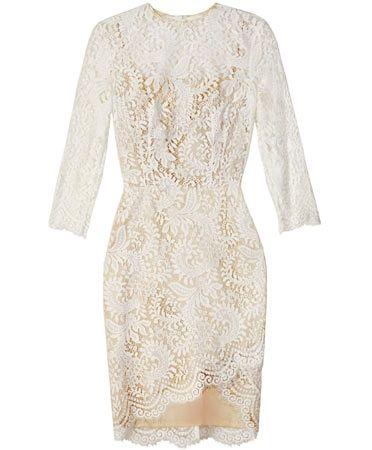 Ivory Mia Assymetric Dress