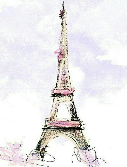 Dessin De La Tour Eiffel Torre Eiffel Caricatura Ilustracion De Paris Torre Eifel Dibujo