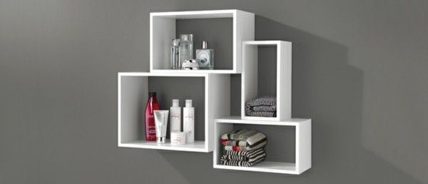 etagere murale de salle de bain. Black Bedroom Furniture Sets. Home Design Ideas