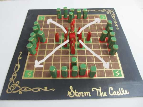 Make And Play Hnefetafl Board Games Diy Hnefatafl Tabletop Games