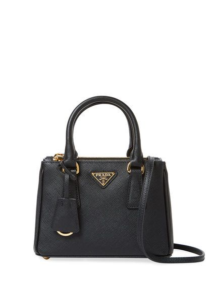 fe5463c849 Galleria Double Zip Mini Saffiano Leather Tote by Prada at Gilt