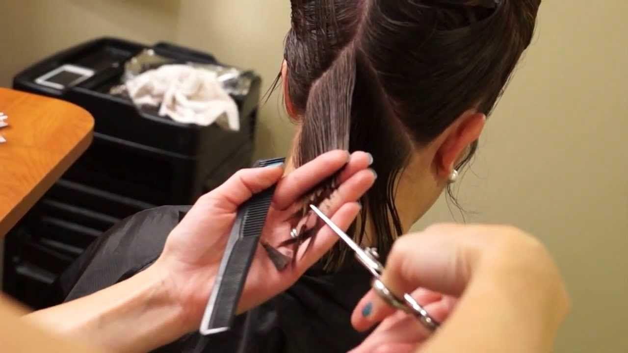 A Line Bob Haircut Short Hair Tutorial Hair 101 Hair