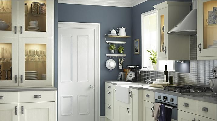 Best Carisbrooke Ivory Kitchen Cabinet Doors Fronts 400 x 300