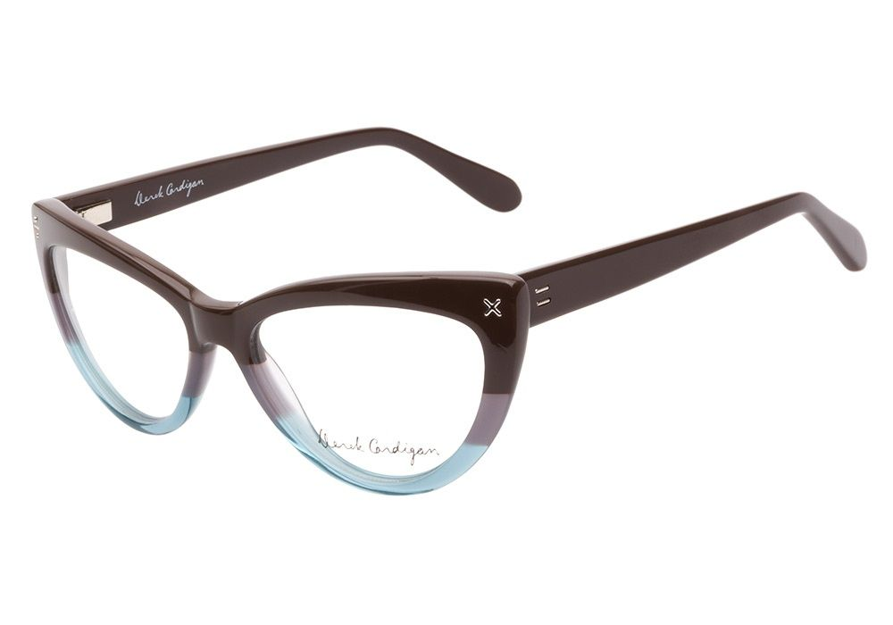 81e54e3a8f5 Derek Cardigan 7005 Brown Aqua eyeglasses. Get low prices
