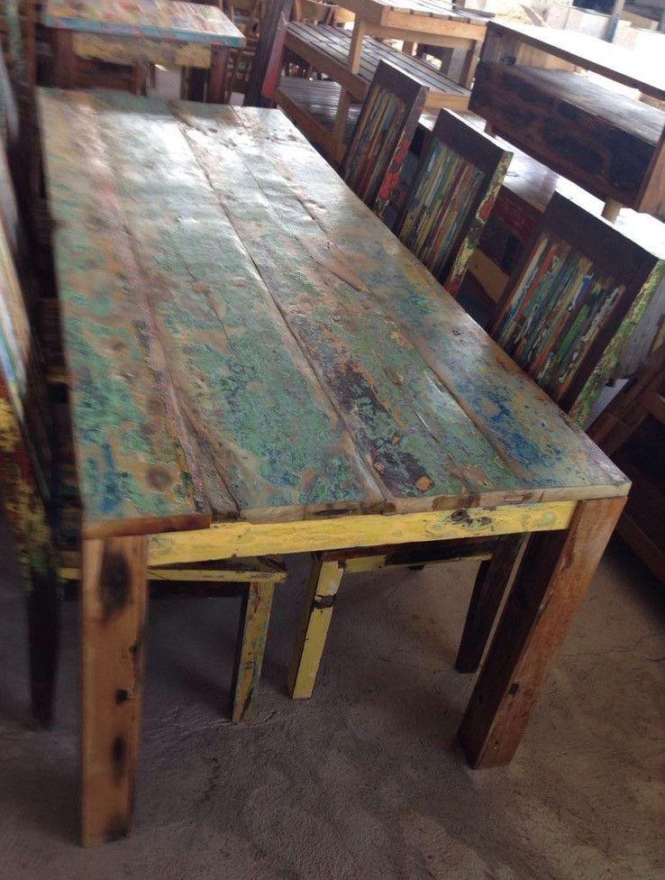 Vintage Tische Esstisch Kuchentisch Teak Holztisch Gartentisch Ein Designerstuck Von Tar Shop Bei Hood De Holztisch Kuche Tisch Teakholz Tisch