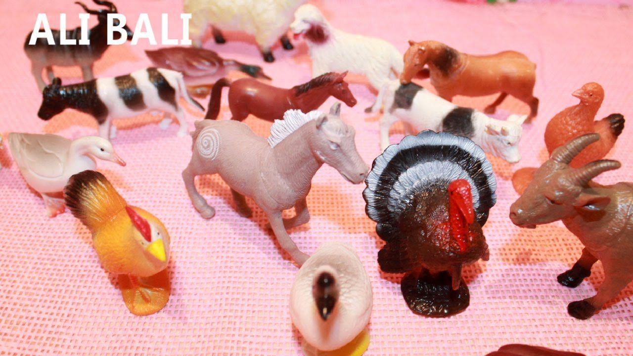 Granjas de Juguete  Animales de Juguetes