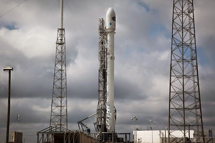 The launch of the Deep Space Climate Observatory (DSCOVR) aboard a SpaceX Falcon 9 rocket is targeted for 6:03:32 p.m. EST from Space Launch Complex 40 at Cape Canaveral Air Force Station in Florida. It is an instantaneous launch window. Coverage will begin at 5 p.m. on NASA Television and the agency's web. There is a 90 percent chance for favorable launch weather and upper level winds are predicted to be much more favorable than on Tuesday.