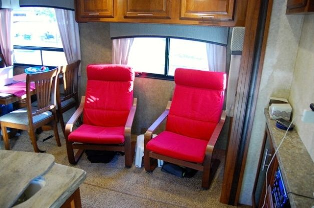 Wildcat MODs! - Forest River Forums | RVing | Ikea chair