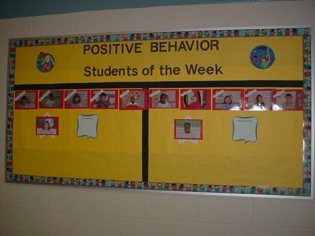 Classroom Reward Ideas For Middle School ~ Perfect attendance bulletin boards google search