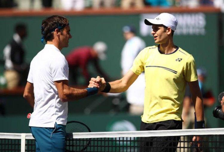 Facing Roger Federer Was A Prize For Hubert Hurkacz Pundit Tennis World Roger Federer Tennis World Rogers