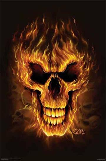 Fire Skull Animated Wallpaper Skull Fire Skull Wallpaper Skull
