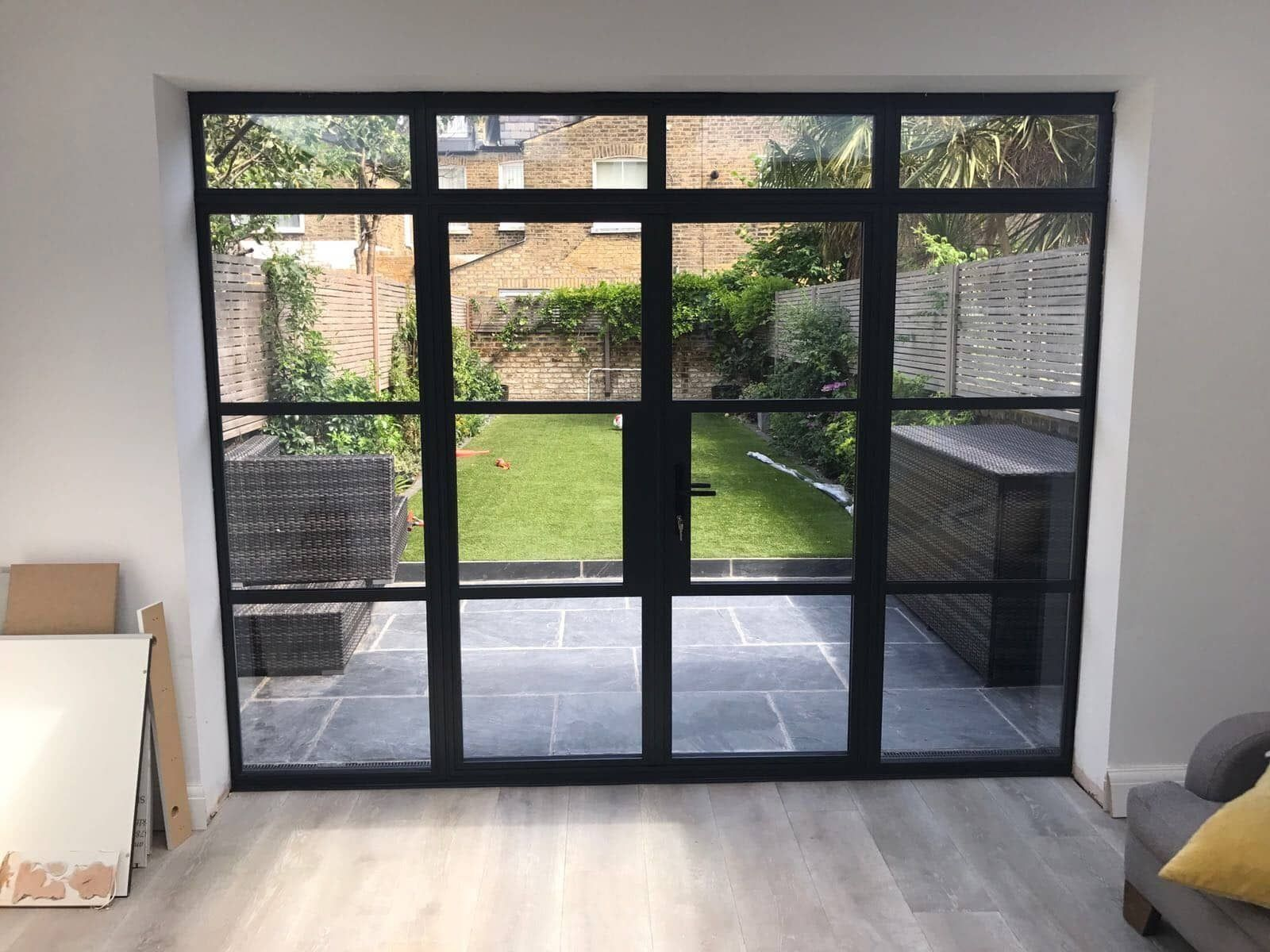 Aluminium Steel Replacement Windows And Doors Give You All The Benefits Of Moder 1000 Nel 2020 Esterno Vetrate Facciata