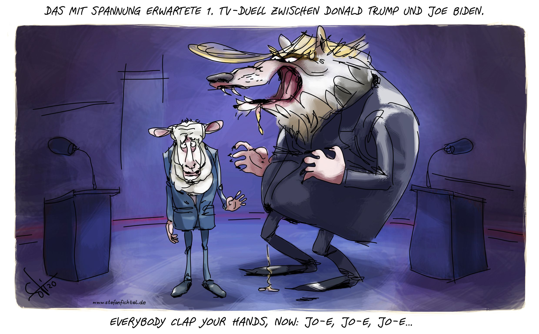 Good Luck Shaun Sorry Joe Karikaturen Politische Karikaturen Karikatur