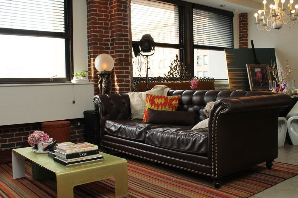 Caitlin and Levi's Youthful Loft with His and Hers Offices ...