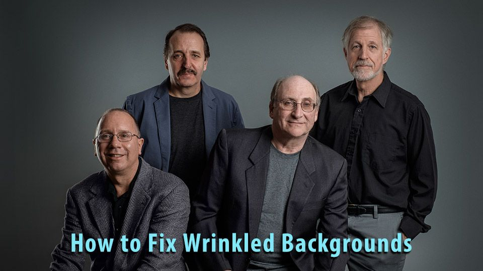 Quick Fix for Problem Seamless My wife Bobbi Lane, and I recently did a photo shoot for some of Bobbi's musician friends. They needed a couple of group shots, in various ensemble combinations…