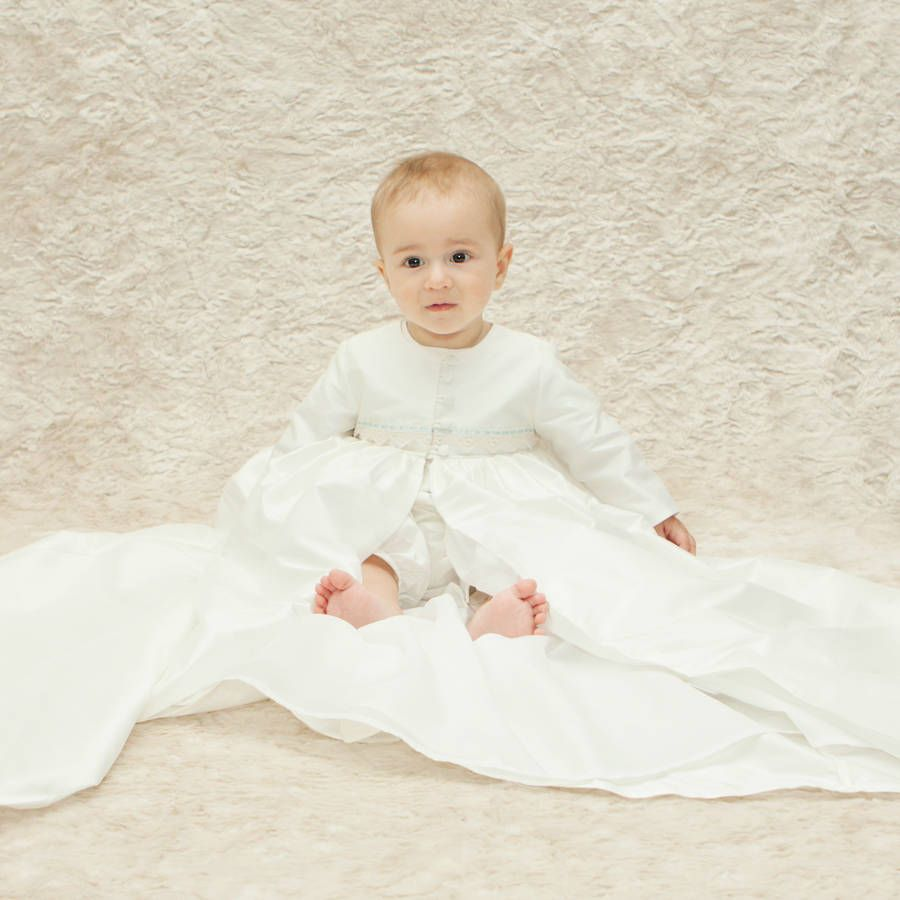 Oliver Christening Coat | Boys christening gowns, Boy christening ...