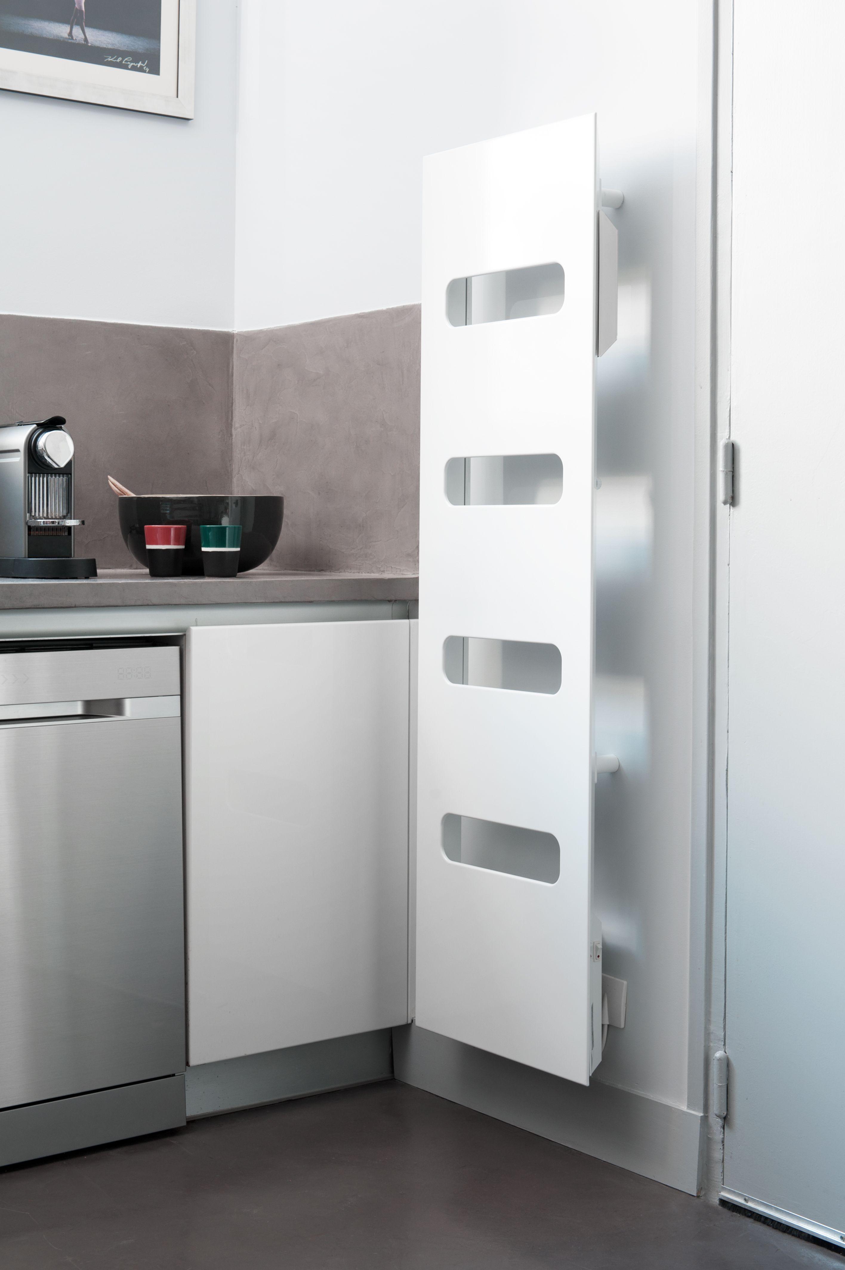 Mod¨le radiateur Campastyle Elite design blanc en acier