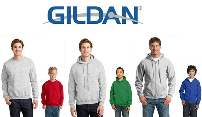 Popular Gildan Sweatshirts for Men and Youth from NYFifth