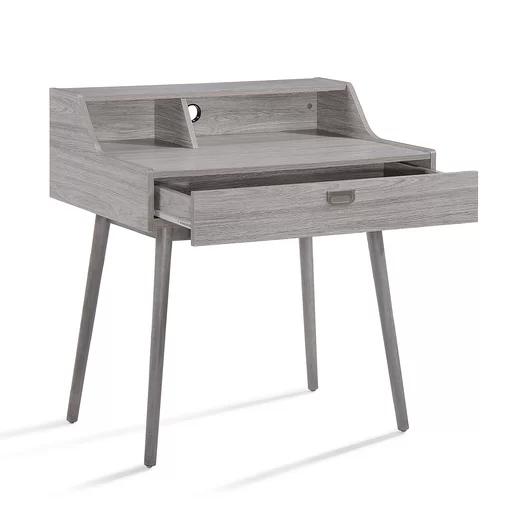 Verdugo Secretary Desk Modern Home Office Desk Wood Office Desk Office Furniture Modern